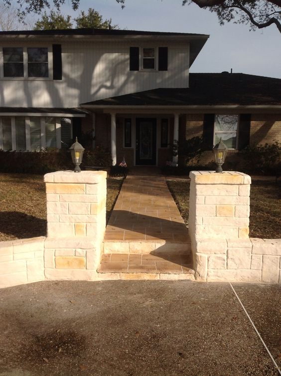 Front and Walkway